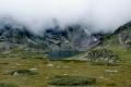 Jezera v mlze