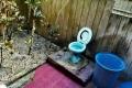 Toaleta na dvorku