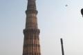 Kutub Minar a železný sloup