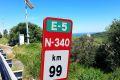 Silnice E-5/N-340 do Tarify