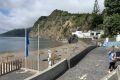 Pláž v Povoacao